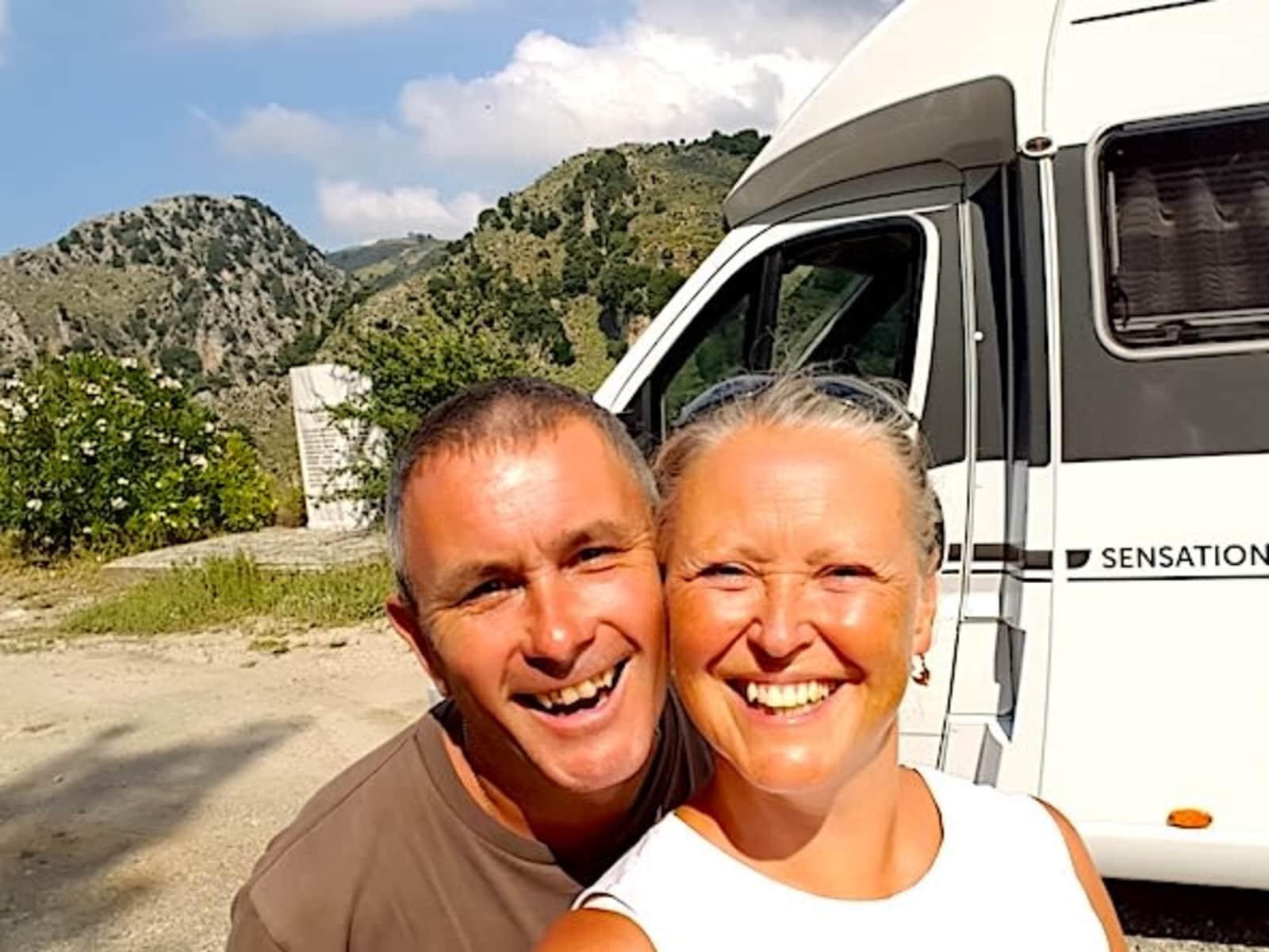 Karen & Myles from Siena, Italy