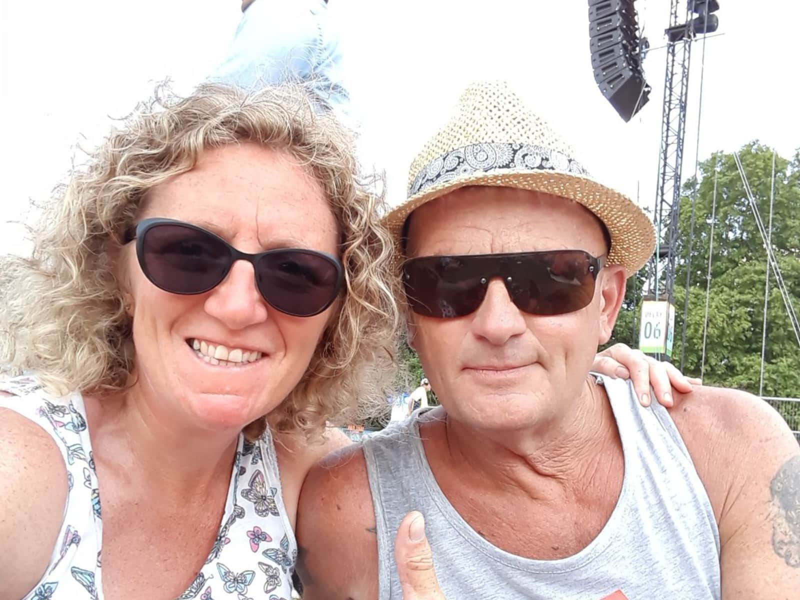 Dave & Louise from Bangor, United Kingdom