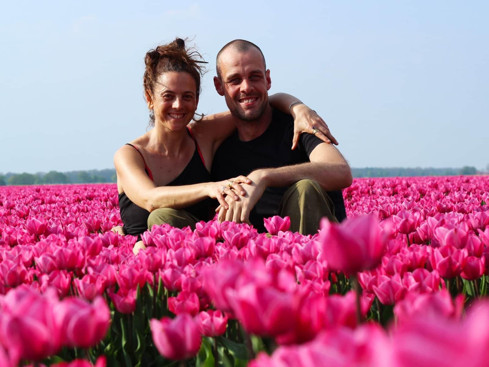 Jeroen & mirjam & Mirjam from Landivy, France