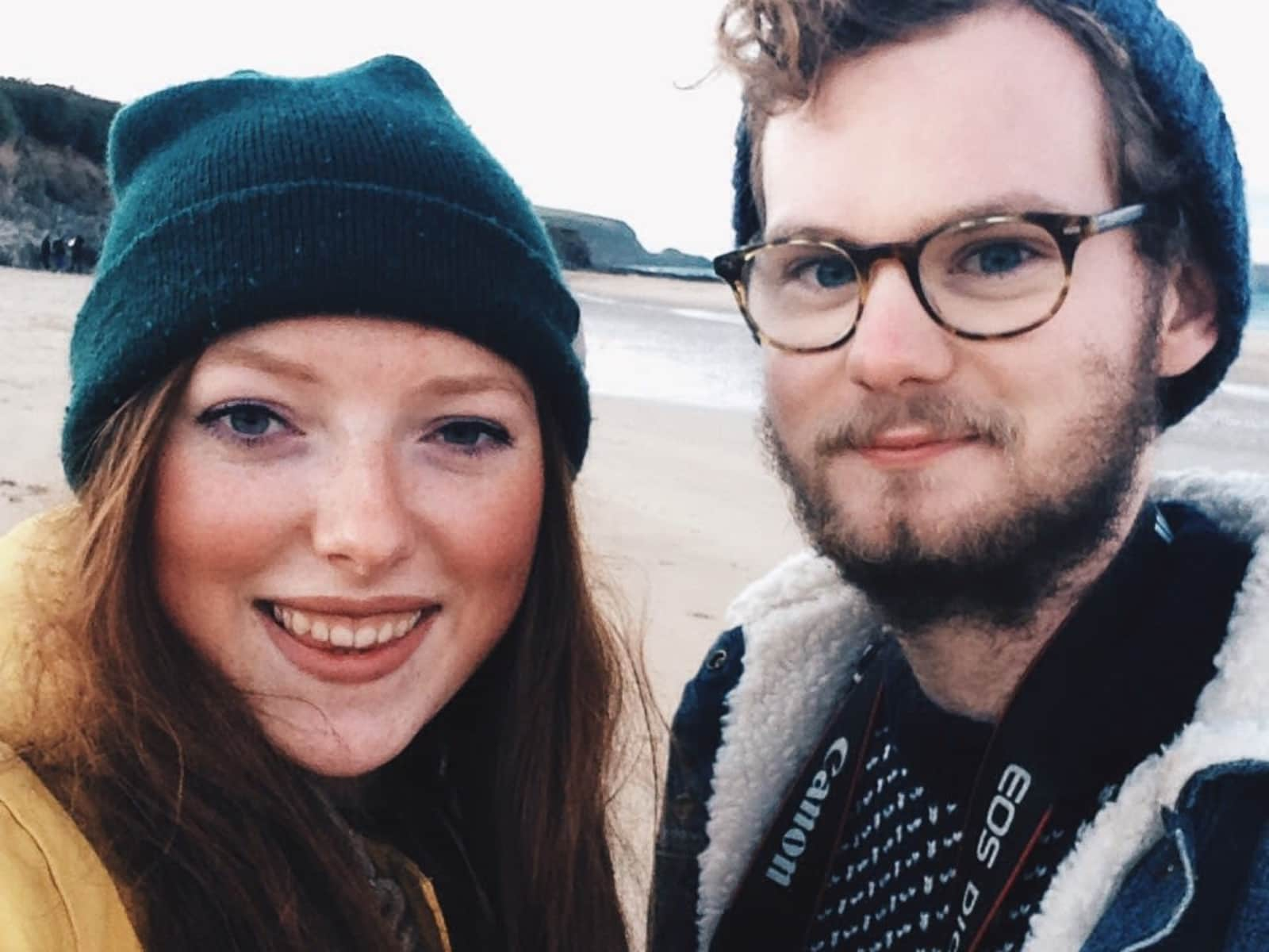 Milly & Jake from Guildford, United Kingdom