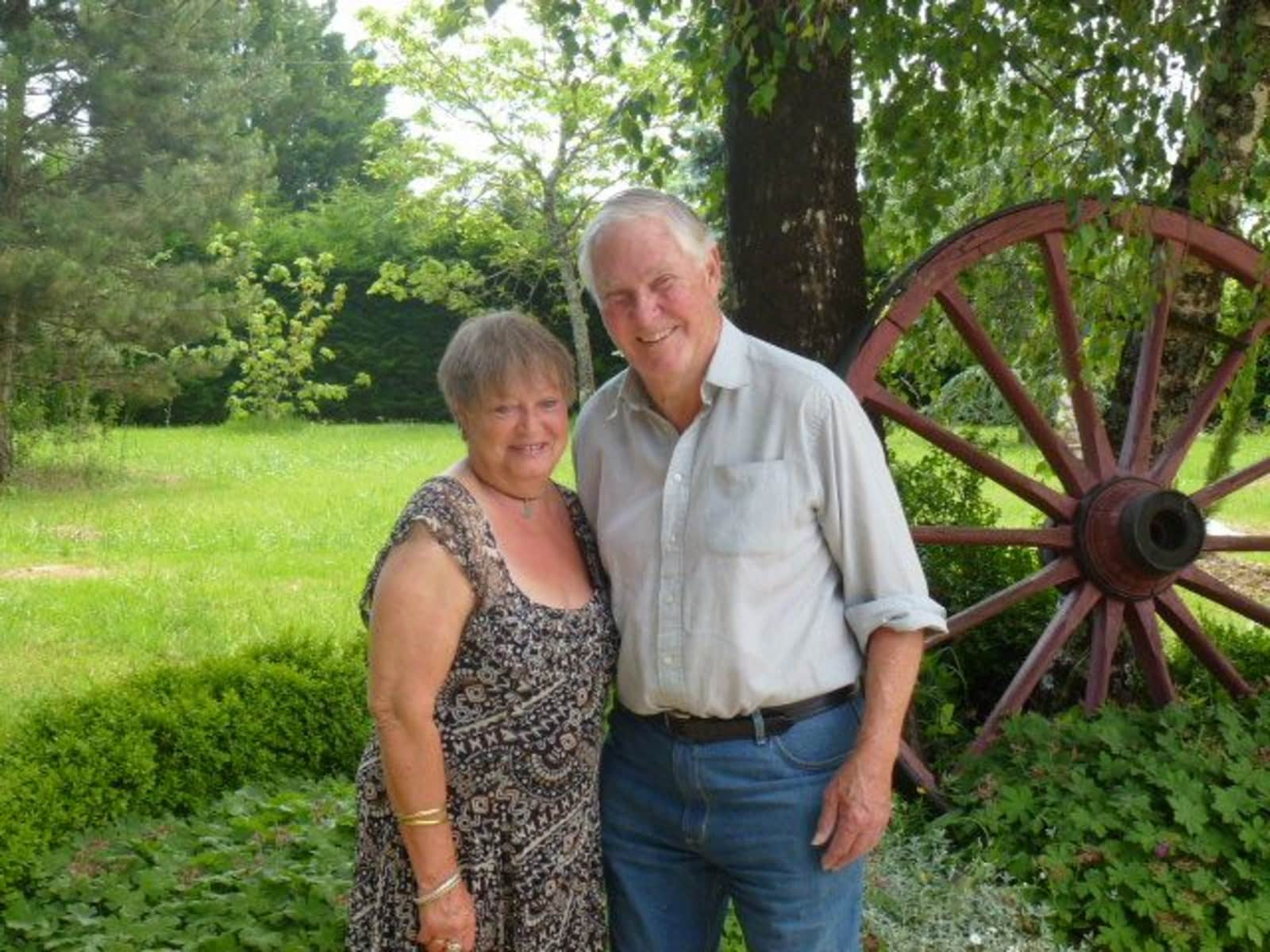 Sue & Kenneth david from Le Fleix, France
