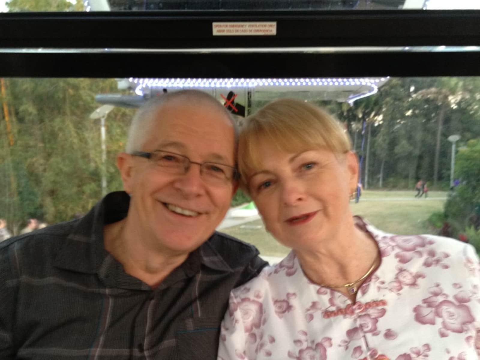Leigh & Grahame from Hobart, Tasmania, Australia