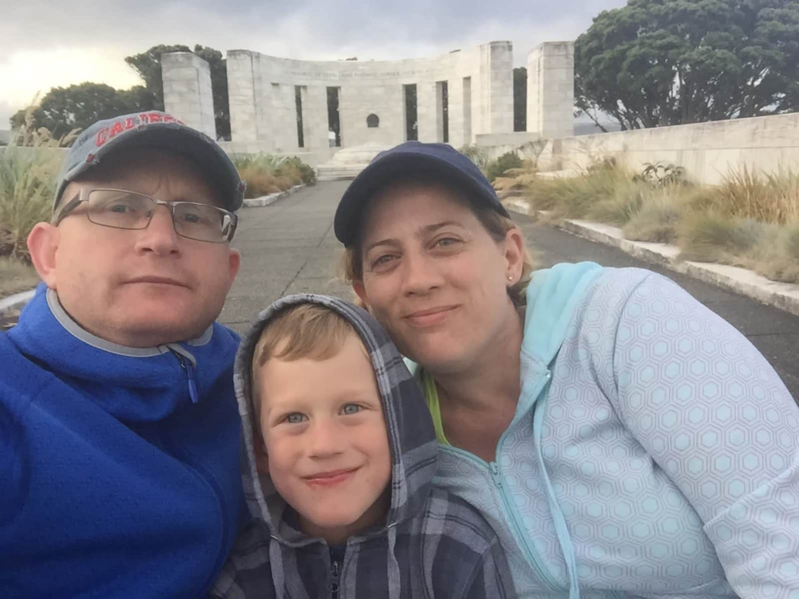 Ella & Jason from Wellington, New Zealand