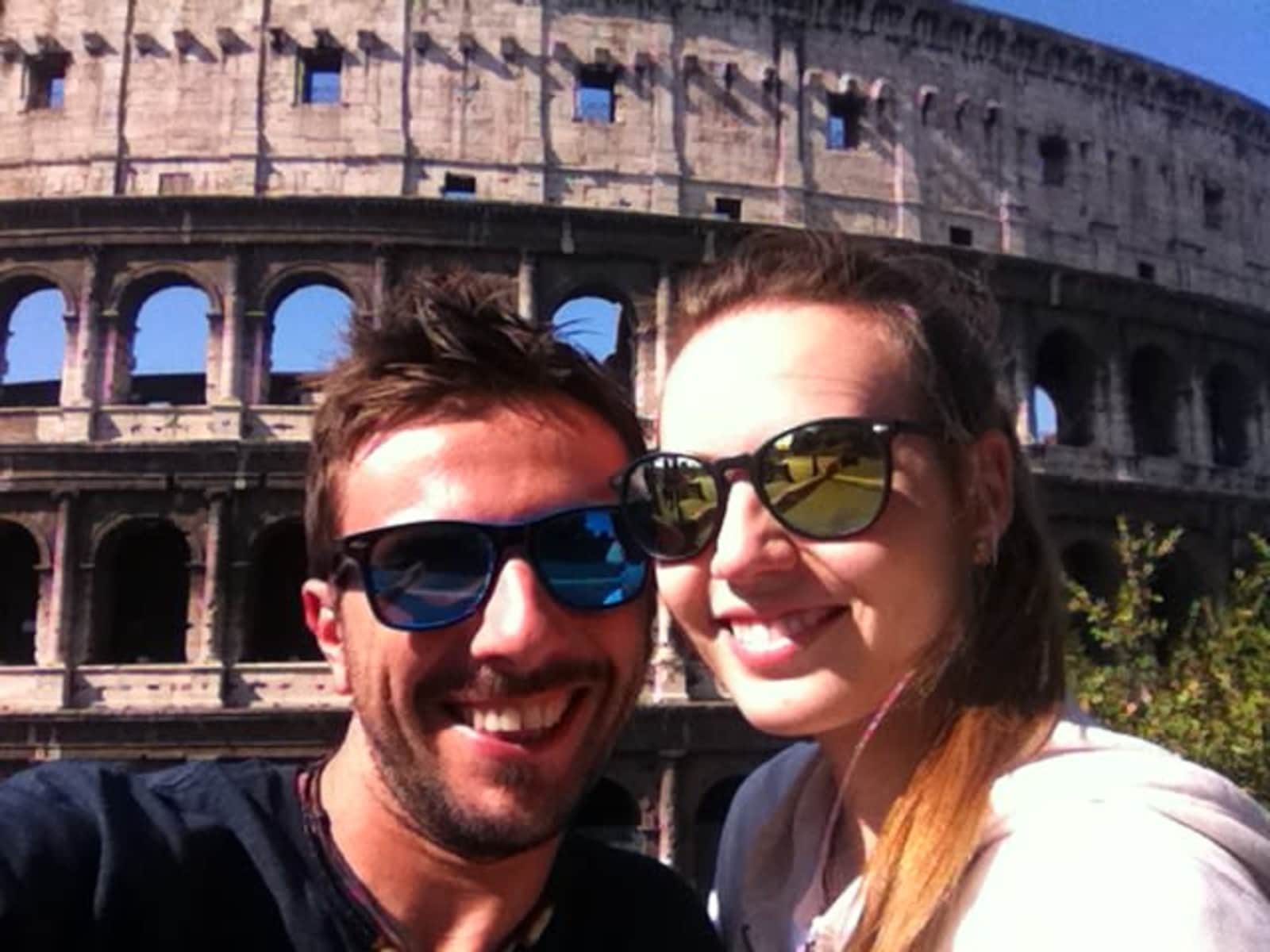 Arianna & Attilio from Vigevano, Italy