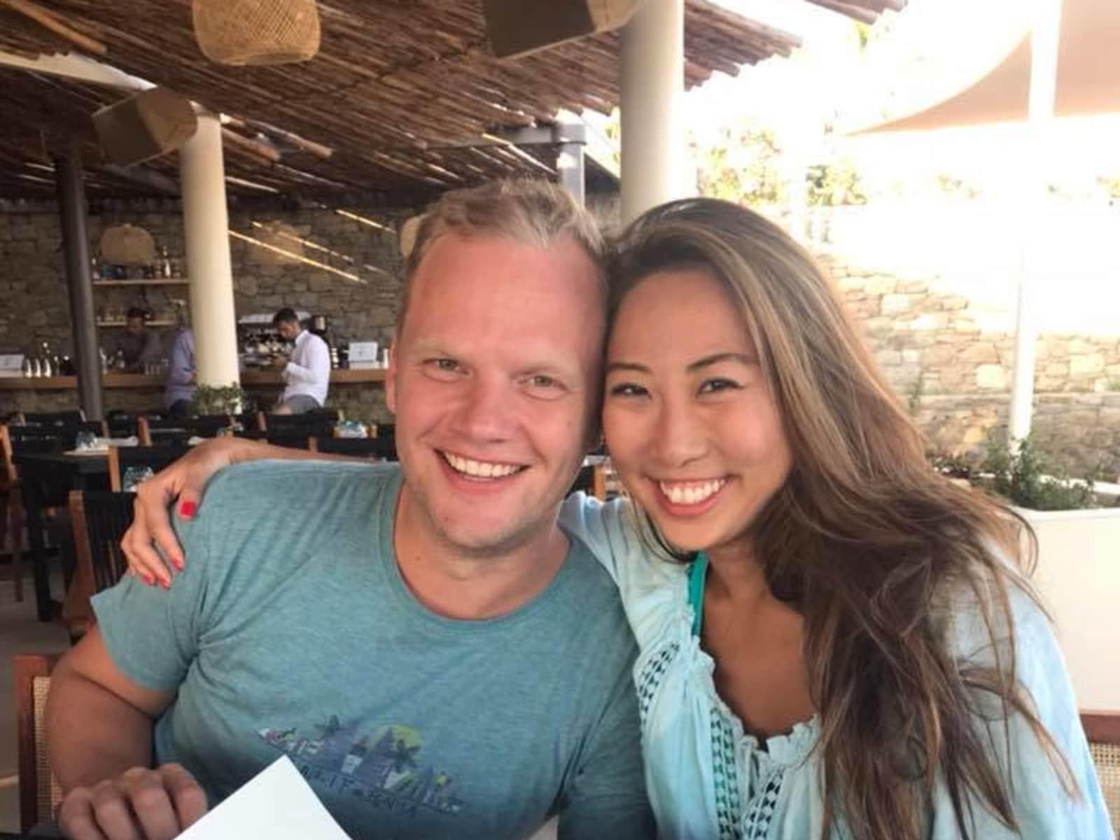 Leona & arne from Bangkok, Thailand