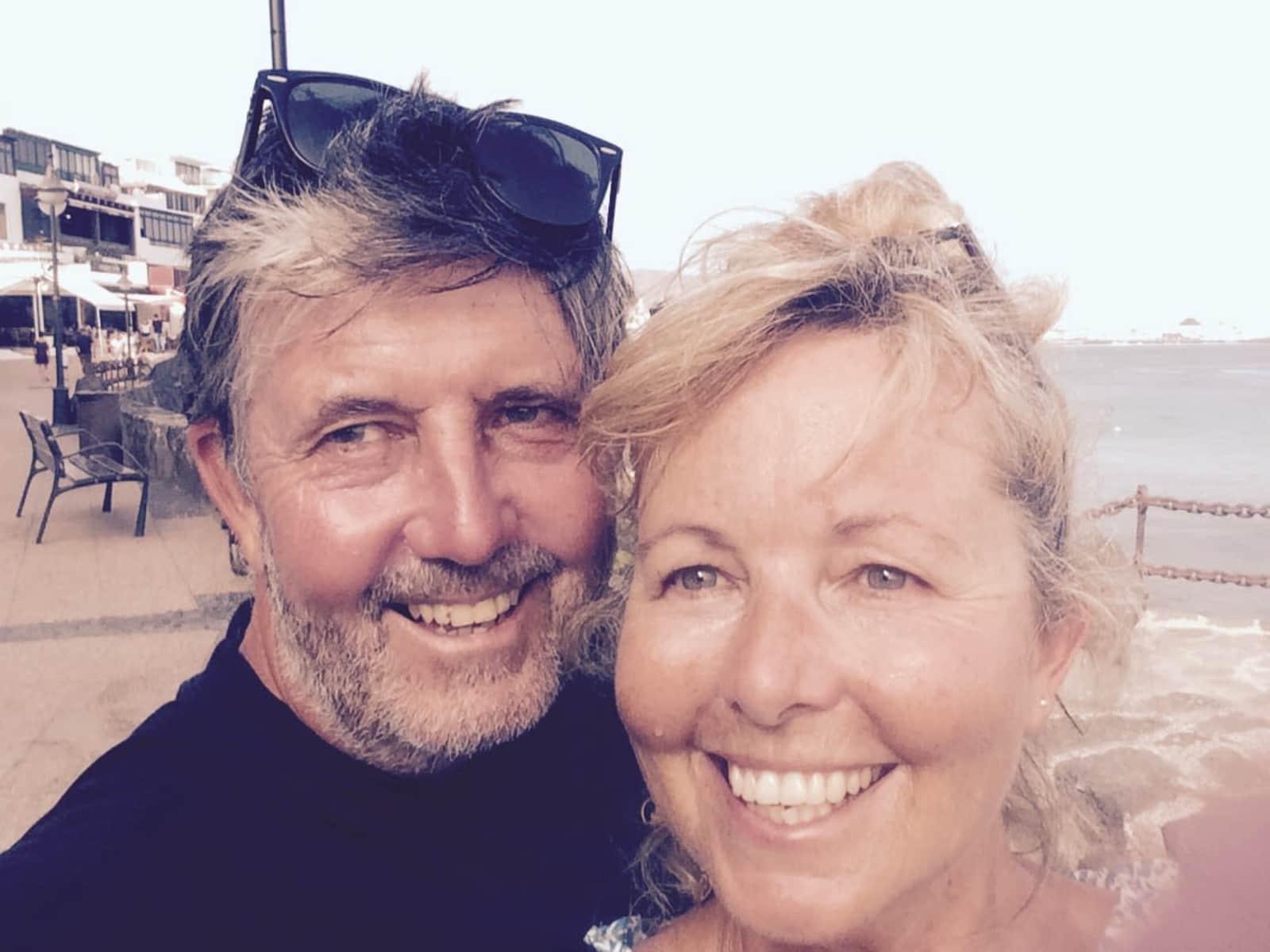 Catherine & Dermot from Christchurch, New Zealand