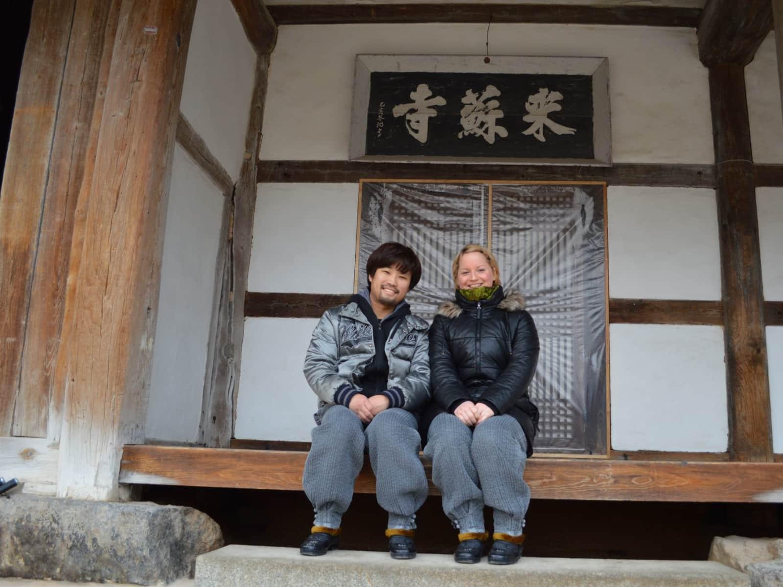 Agnes & Jay from Seoul, South Korea