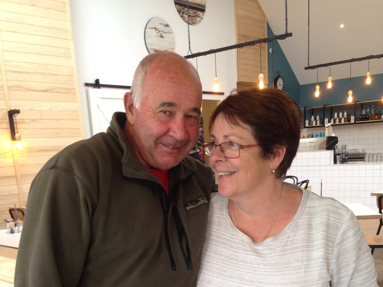 Warren & Anne from Millers Flat, New Zealand