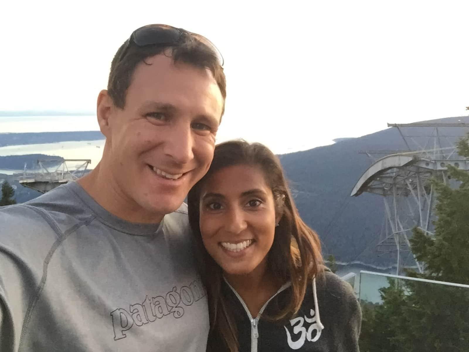 Sarah & Ian from Victoria, British Columbia, Canada