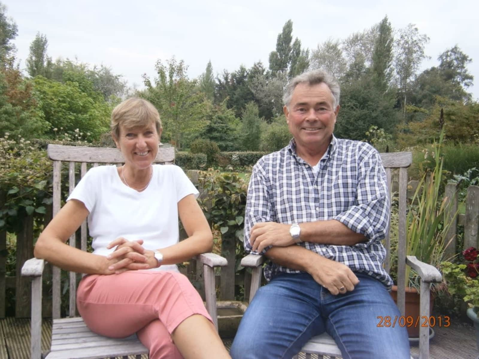 Victor & Susan from Honfleur, France