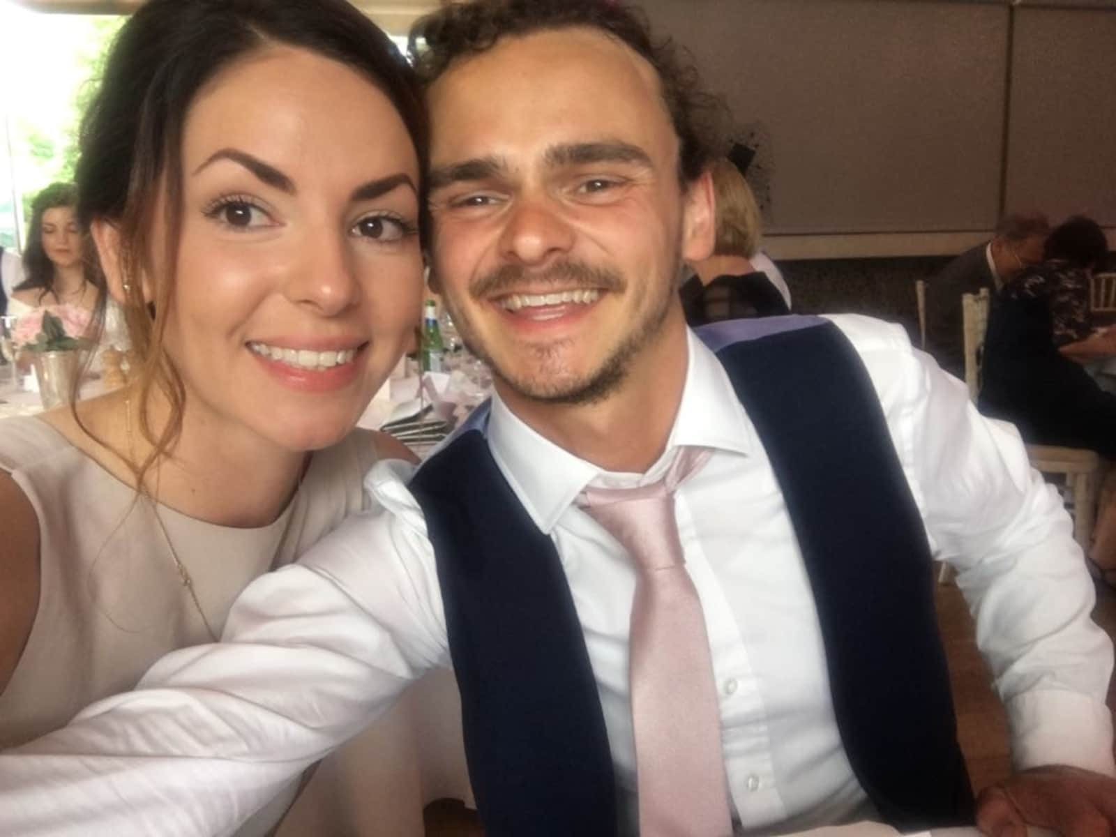 Laura & James from Reading, United Kingdom