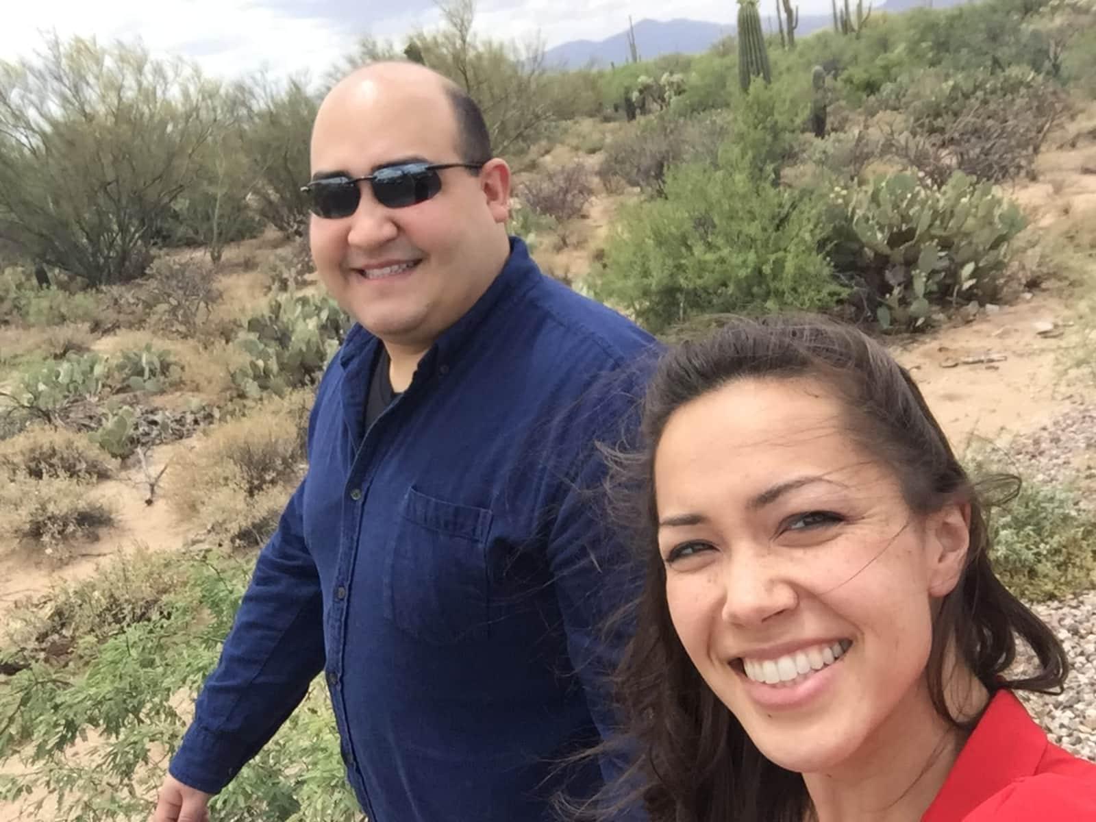 Stephanie & Jesse from Tucson, Arizona, United States