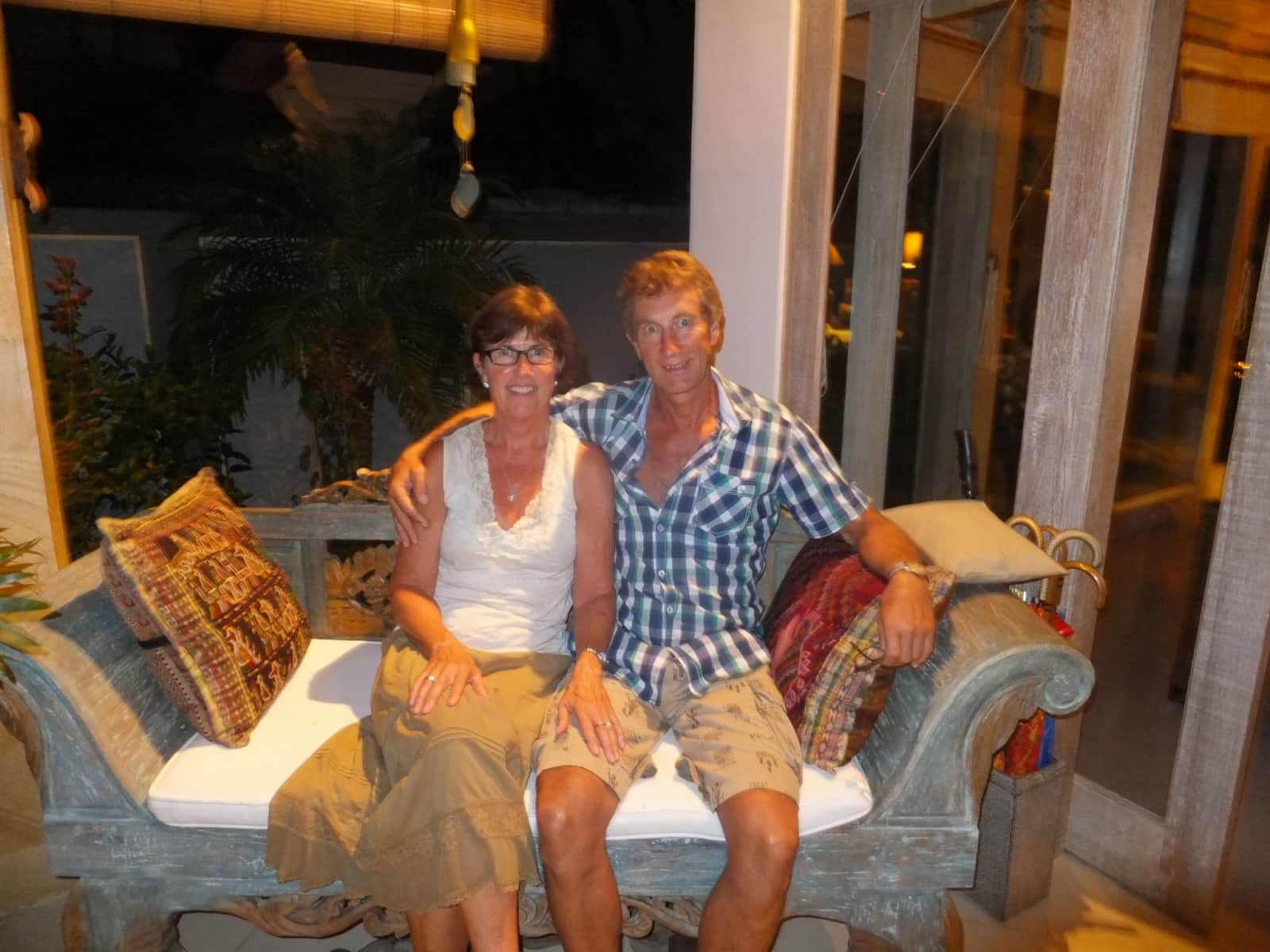 Robyn & Graeme from Napier, New Zealand