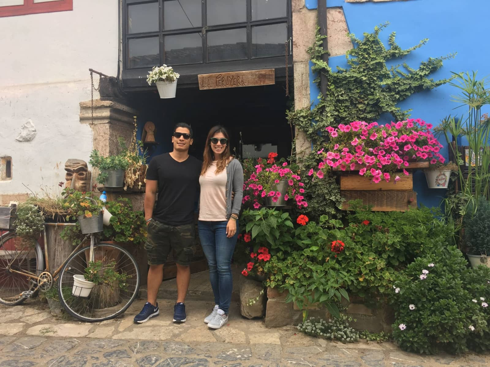 Astrid & Joss from Madrid, Spain
