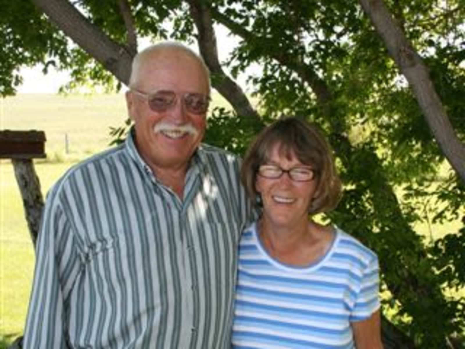 Harry & Margo from Pincher Creek, Alberta, Canada