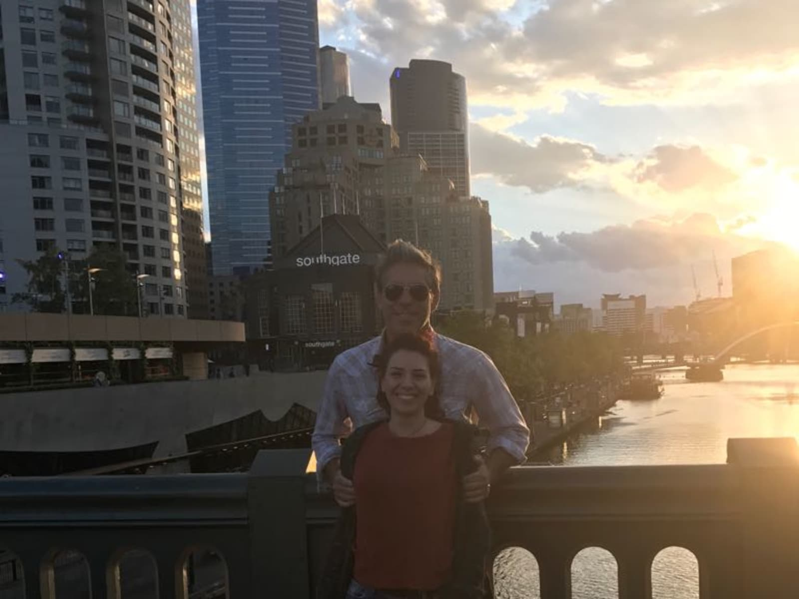 Federica & John from Brisbane, Queensland, Australia