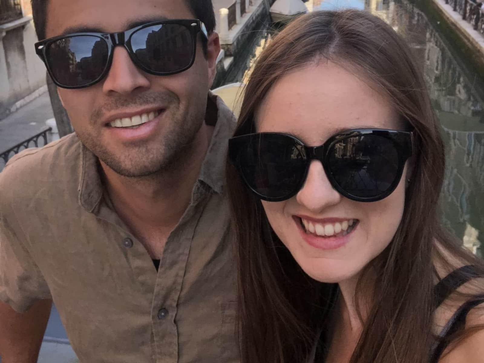 Liv & Jarad from Christchurch, New Zealand