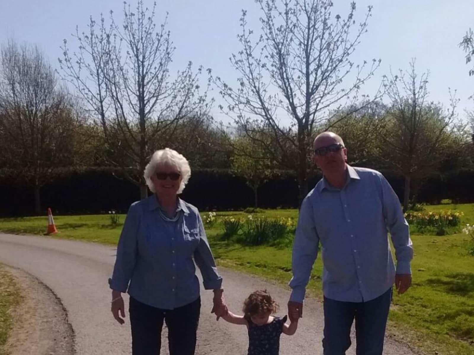 Diana & Stuart from Sidmouth, United Kingdom