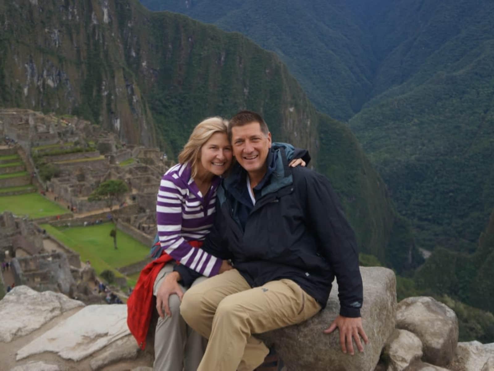 Chris & Patty from Sam Roi Yot, Thailand