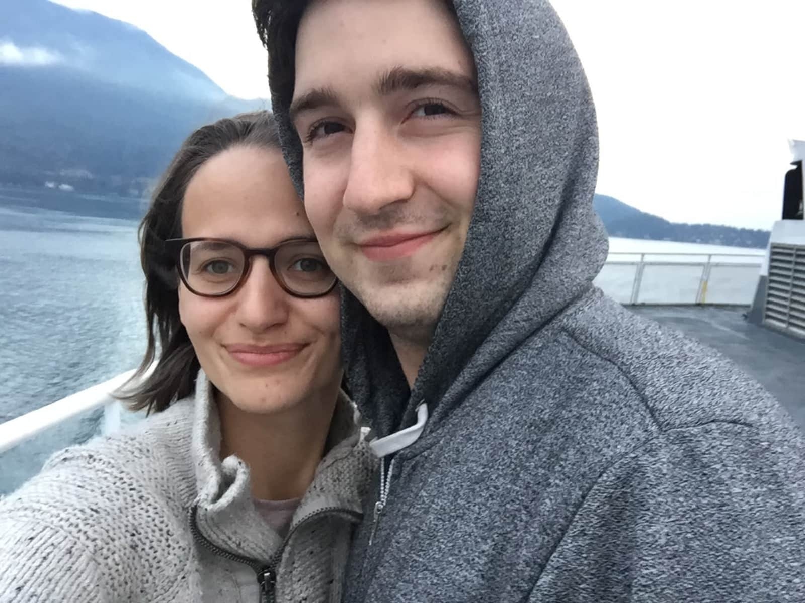 Jocelyn & Alex from Victoria, British Columbia, Canada