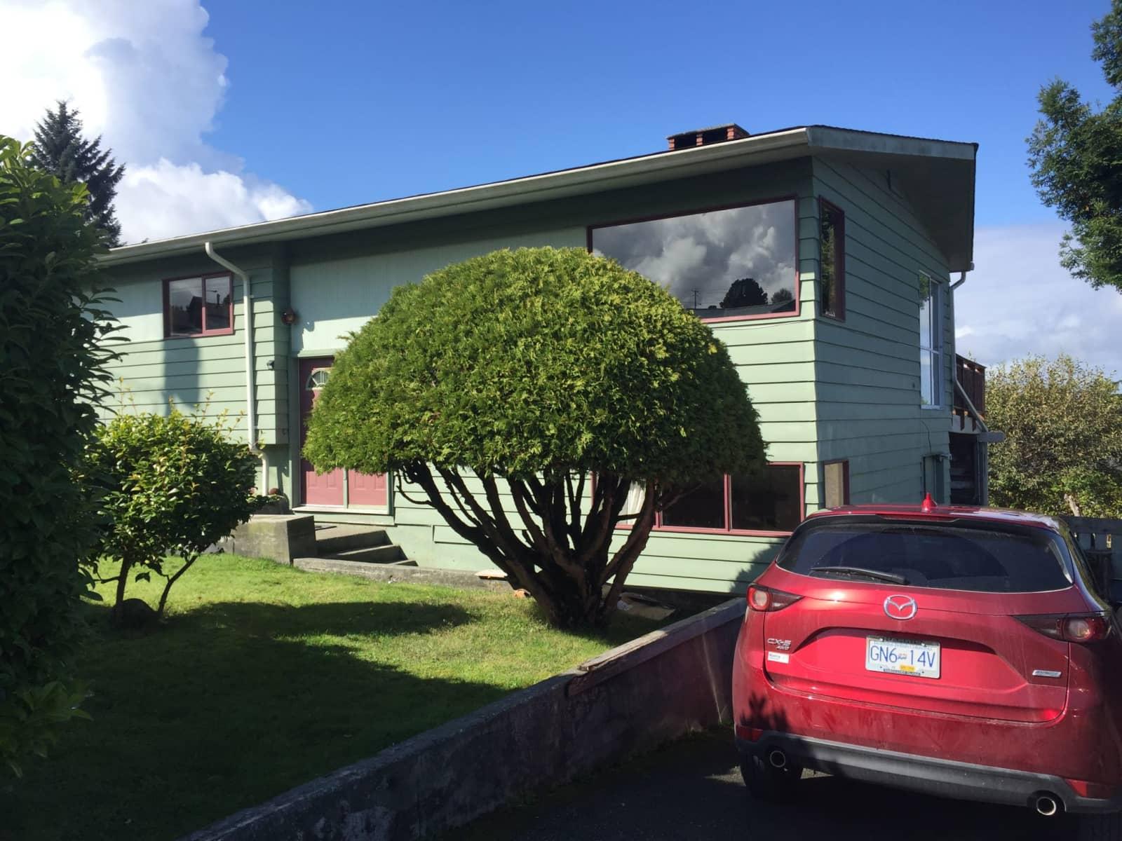 Housesitting assignment in Port McNeill, British Columbia, Canada