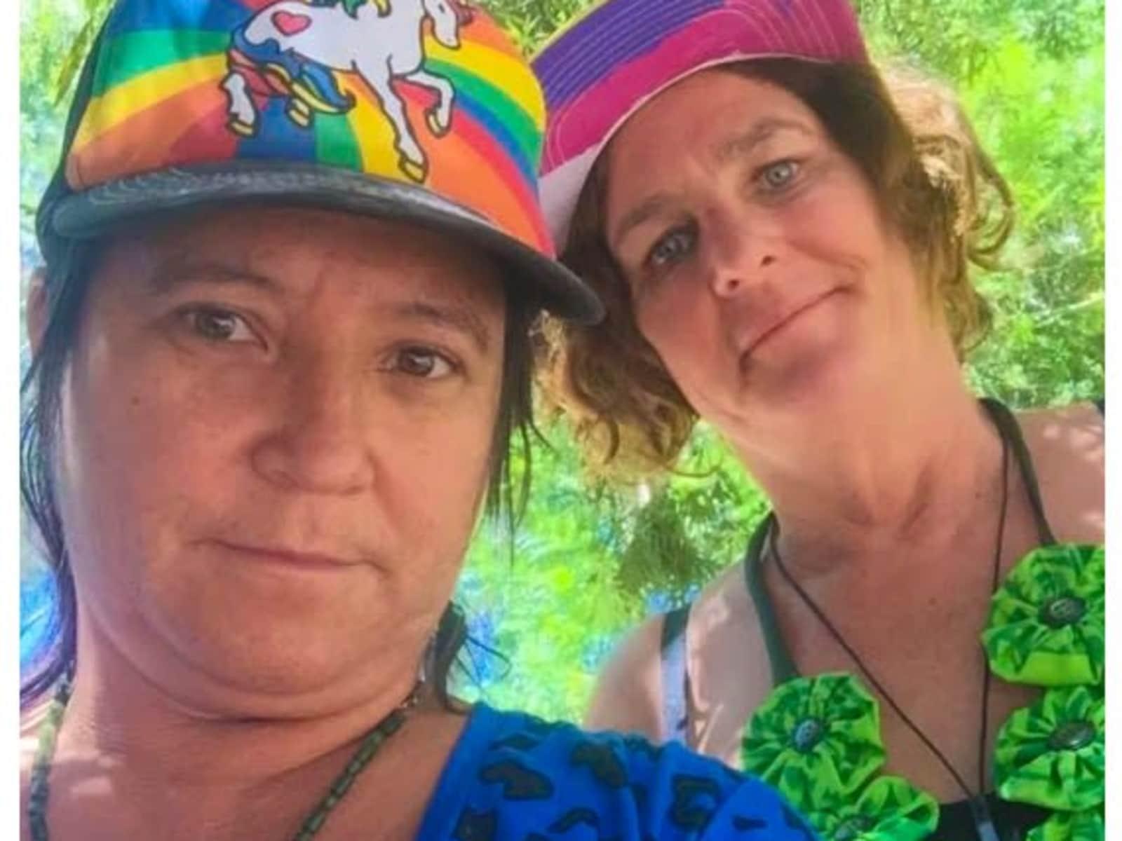 Kara & Sandy lee from Alice Springs, Northern Territory, Australia