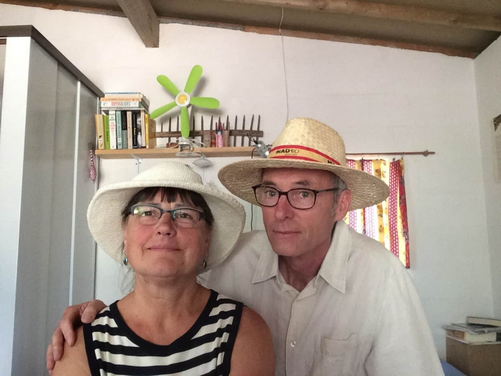 Luc & Marianne from Lachapelle-Auzac, France