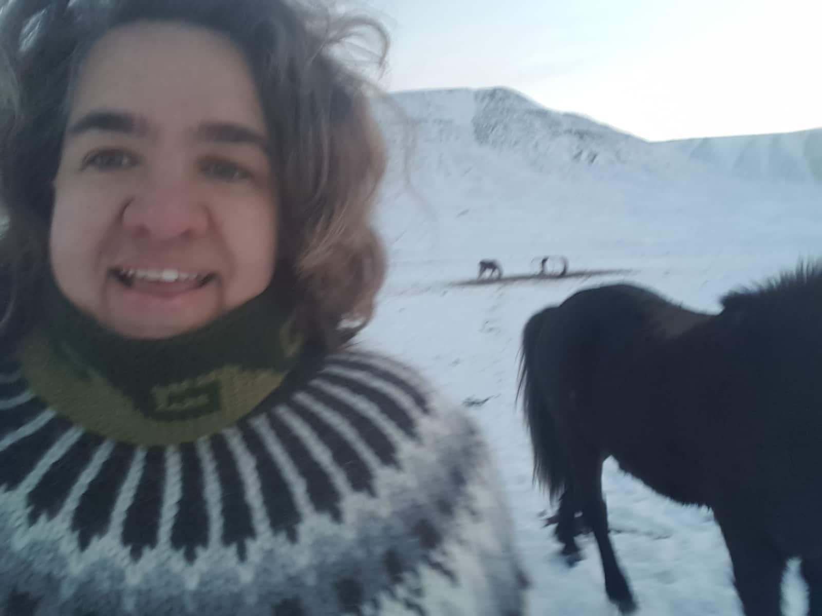 Amy & August from Hólar, Iceland