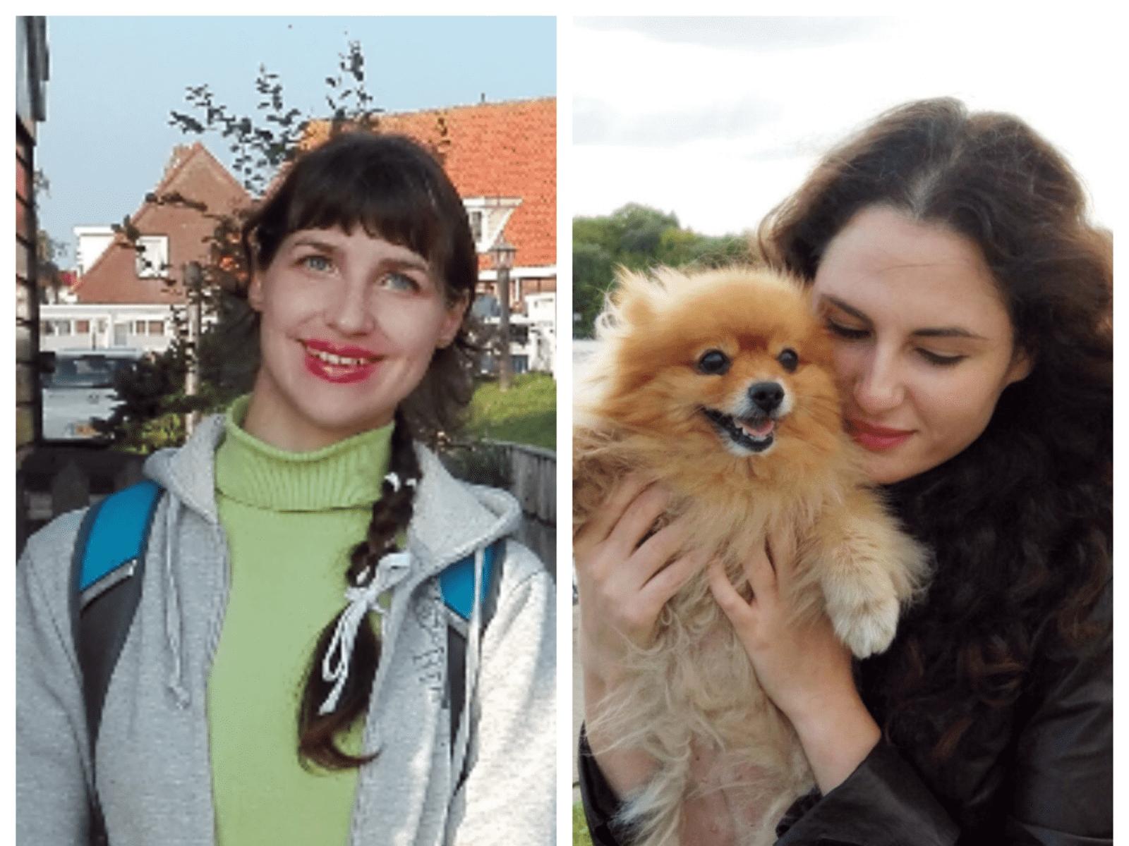 Ksenia & Natalia from Moscow, Russia