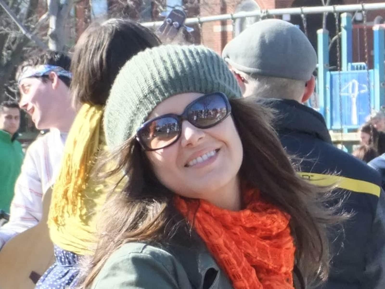 Michelle from Toronto, Ontario, Canada