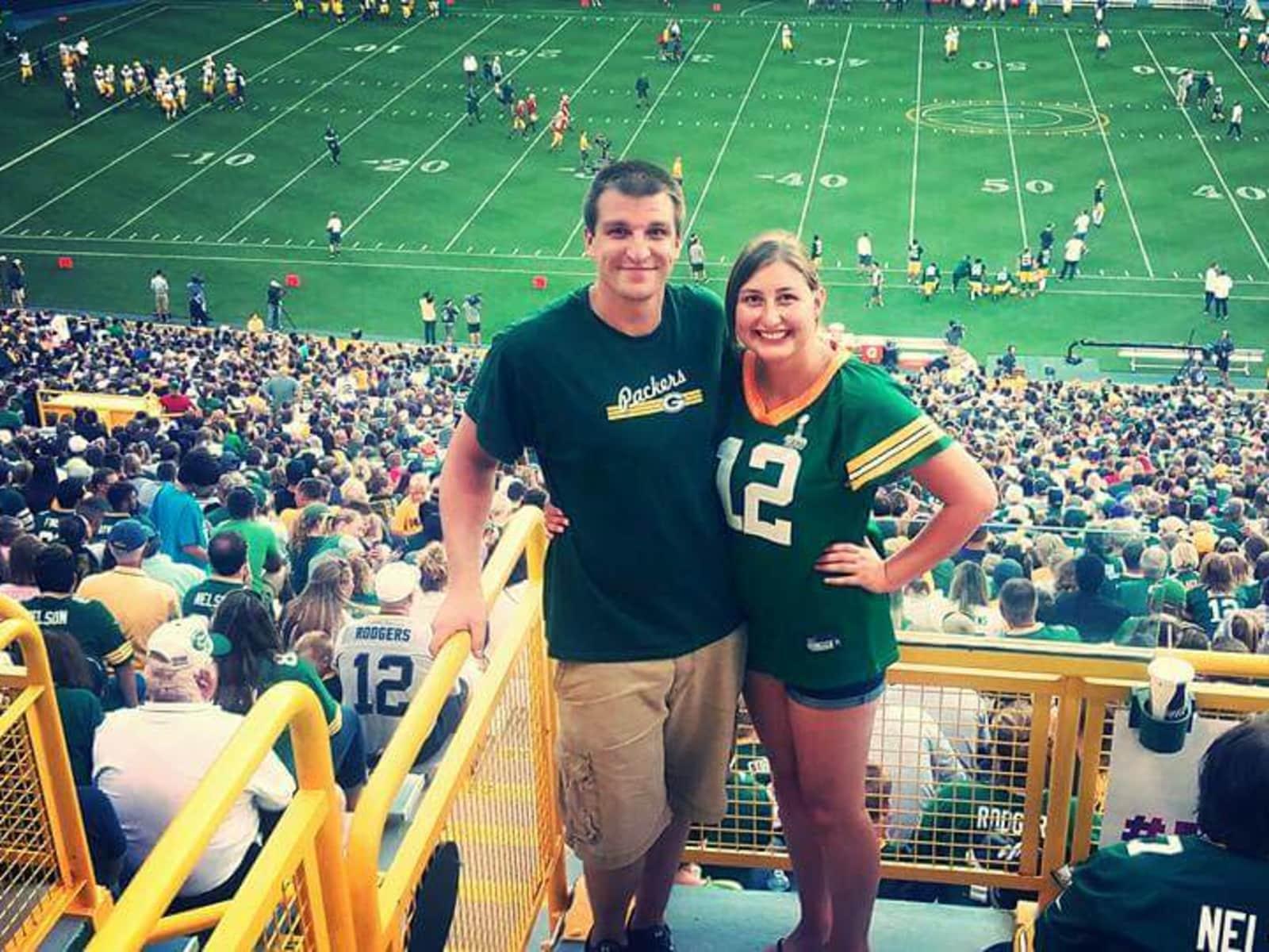 Katelyn & Matthew from Appleton, Wisconsin, United States