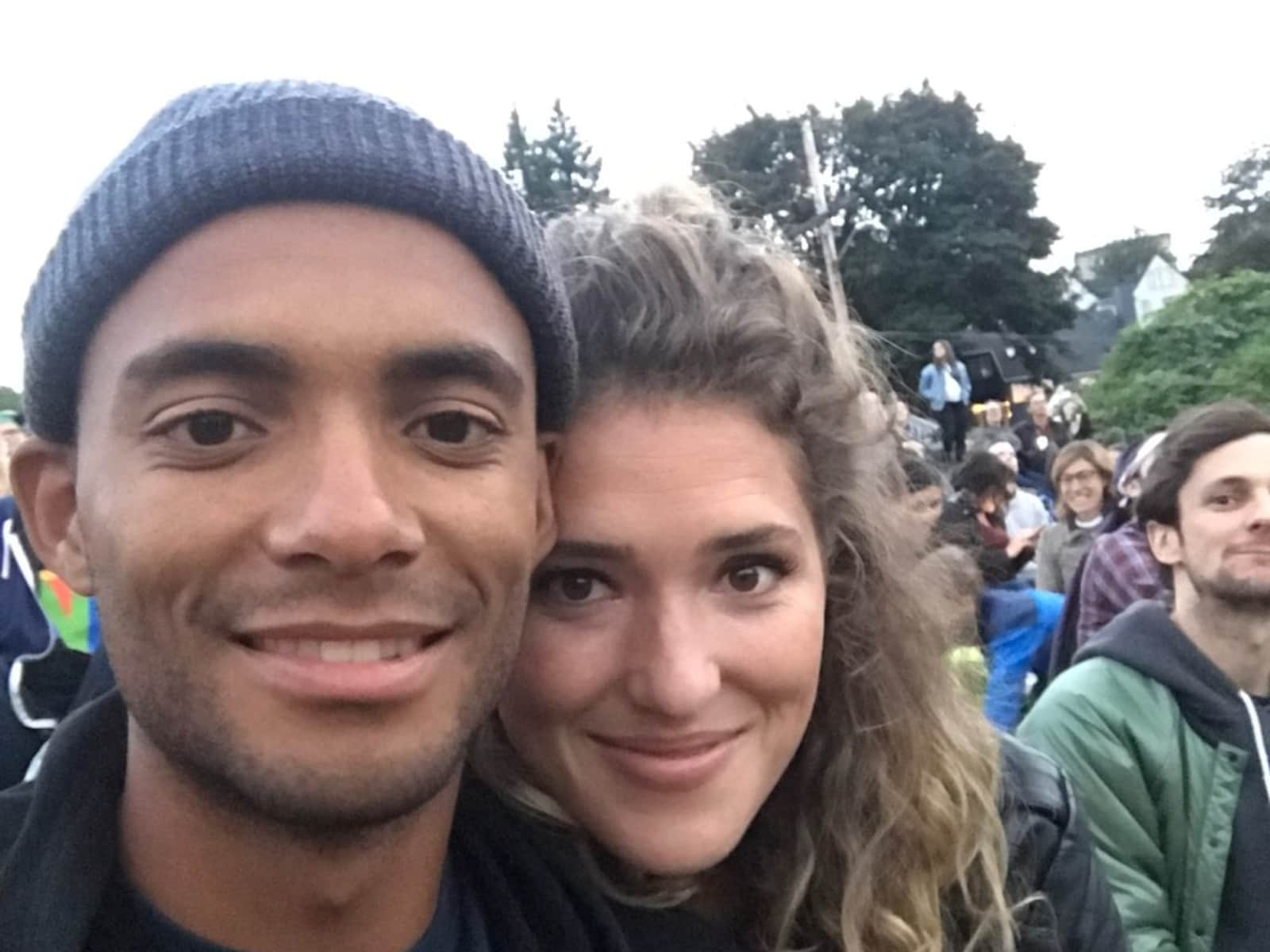 Stephanie & Elijah from Portland, Oregon, United States