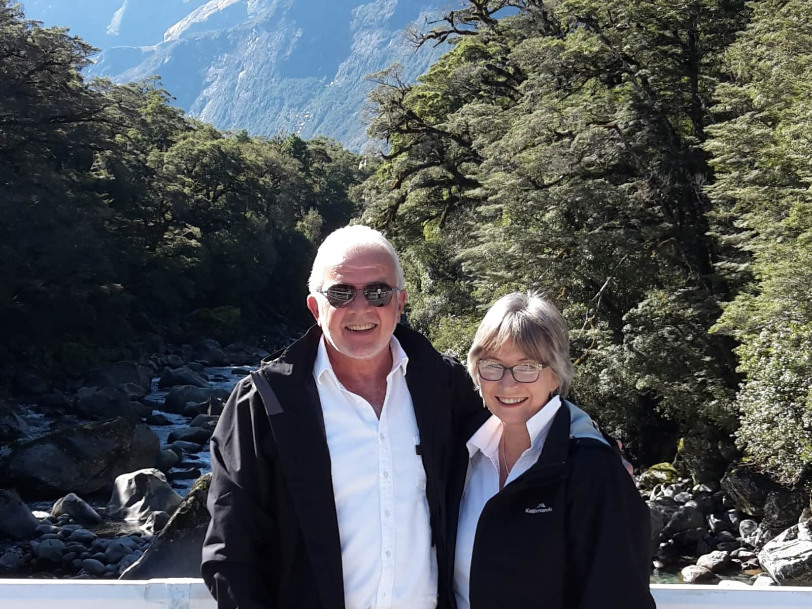 Roger & Gail from Christchurch, New Zealand