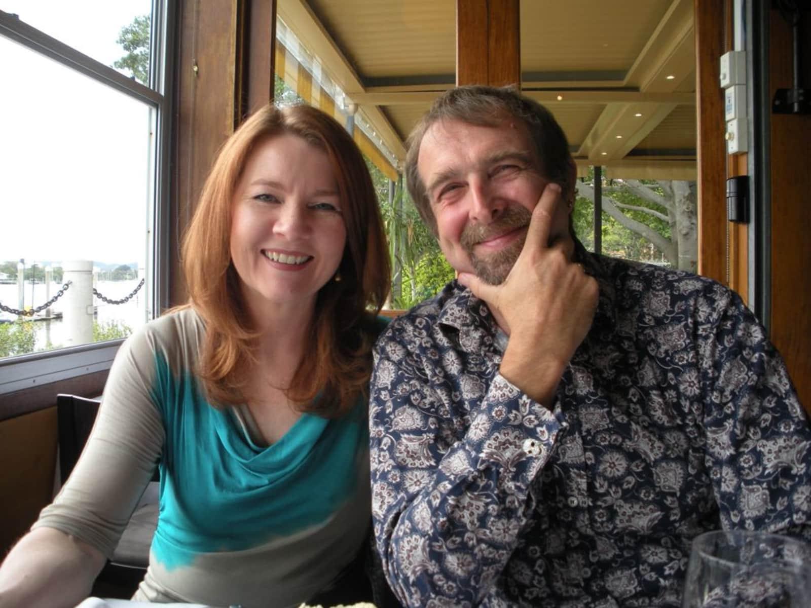 Rod & Joanne from London, United Kingdom