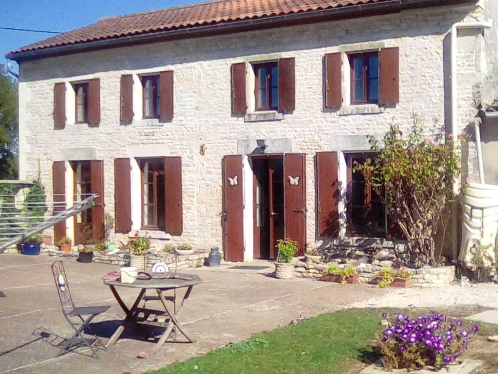 Housesitting assignment in Saleignes, France