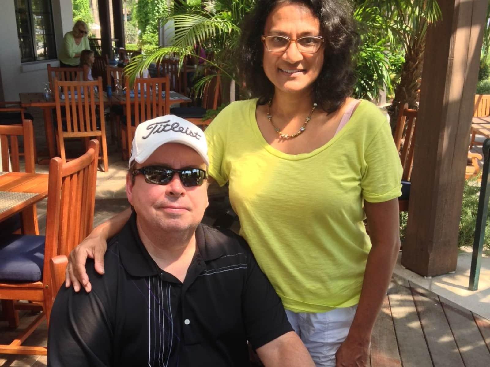 Sheila & Bob from Charlotte, North Carolina, United States