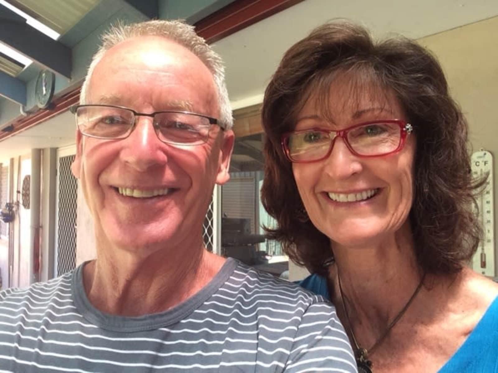 Linda & Laurence from Perth, Western Australia, Australia