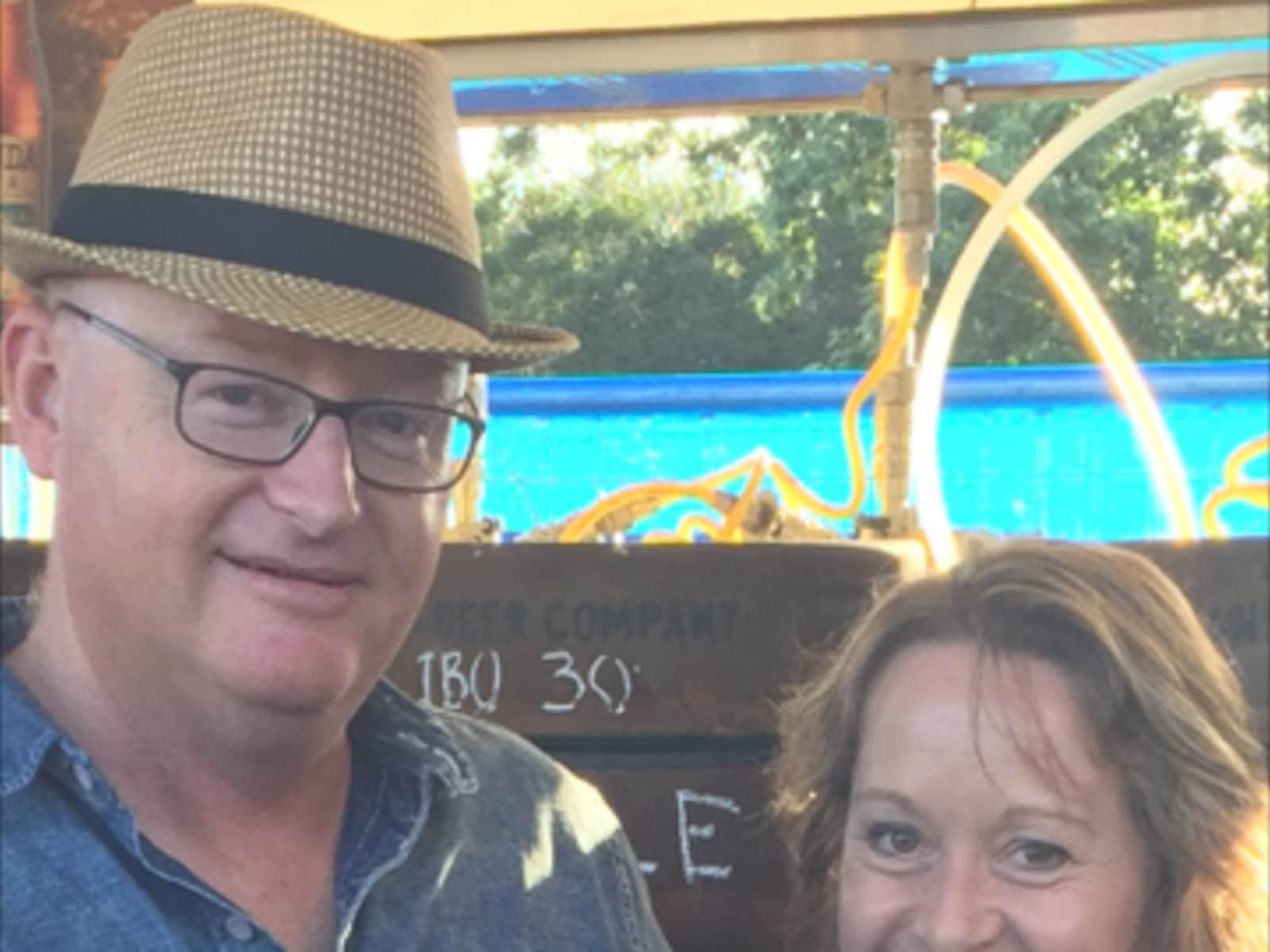 Annemarie & Jeff from Brisbane, Queensland, Australia