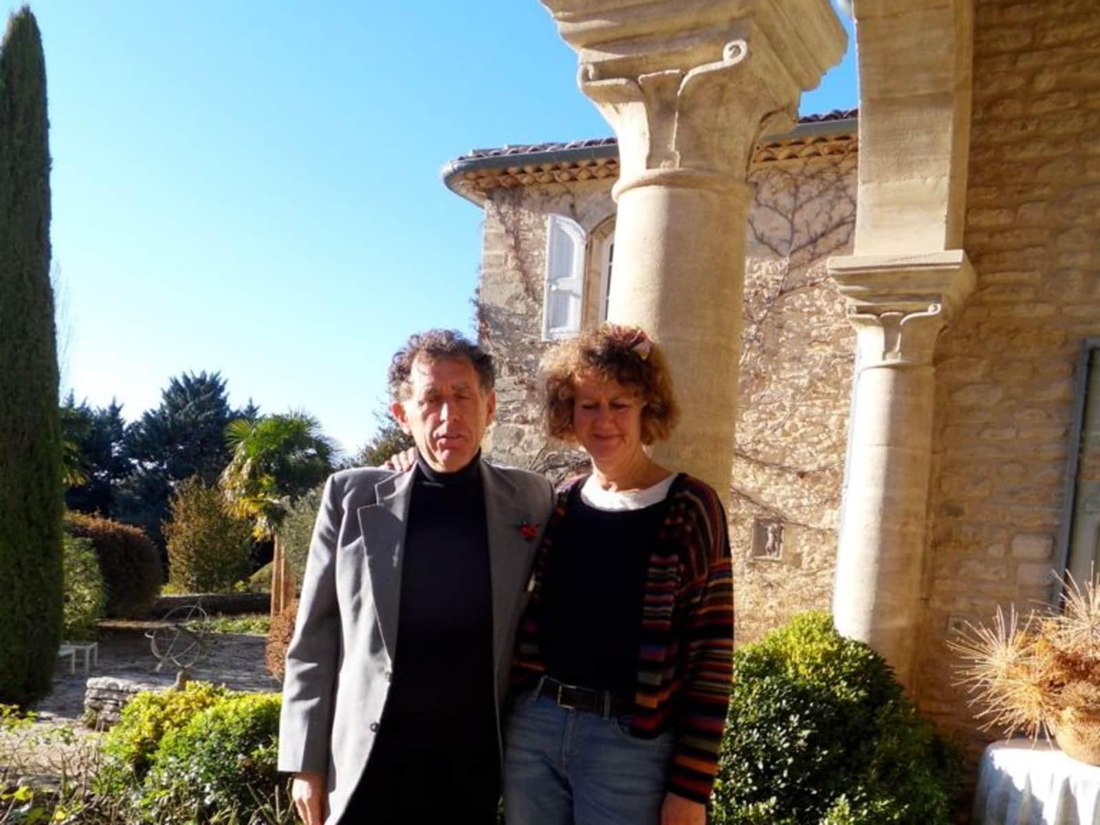 Caron & Finn from Avignon, France
