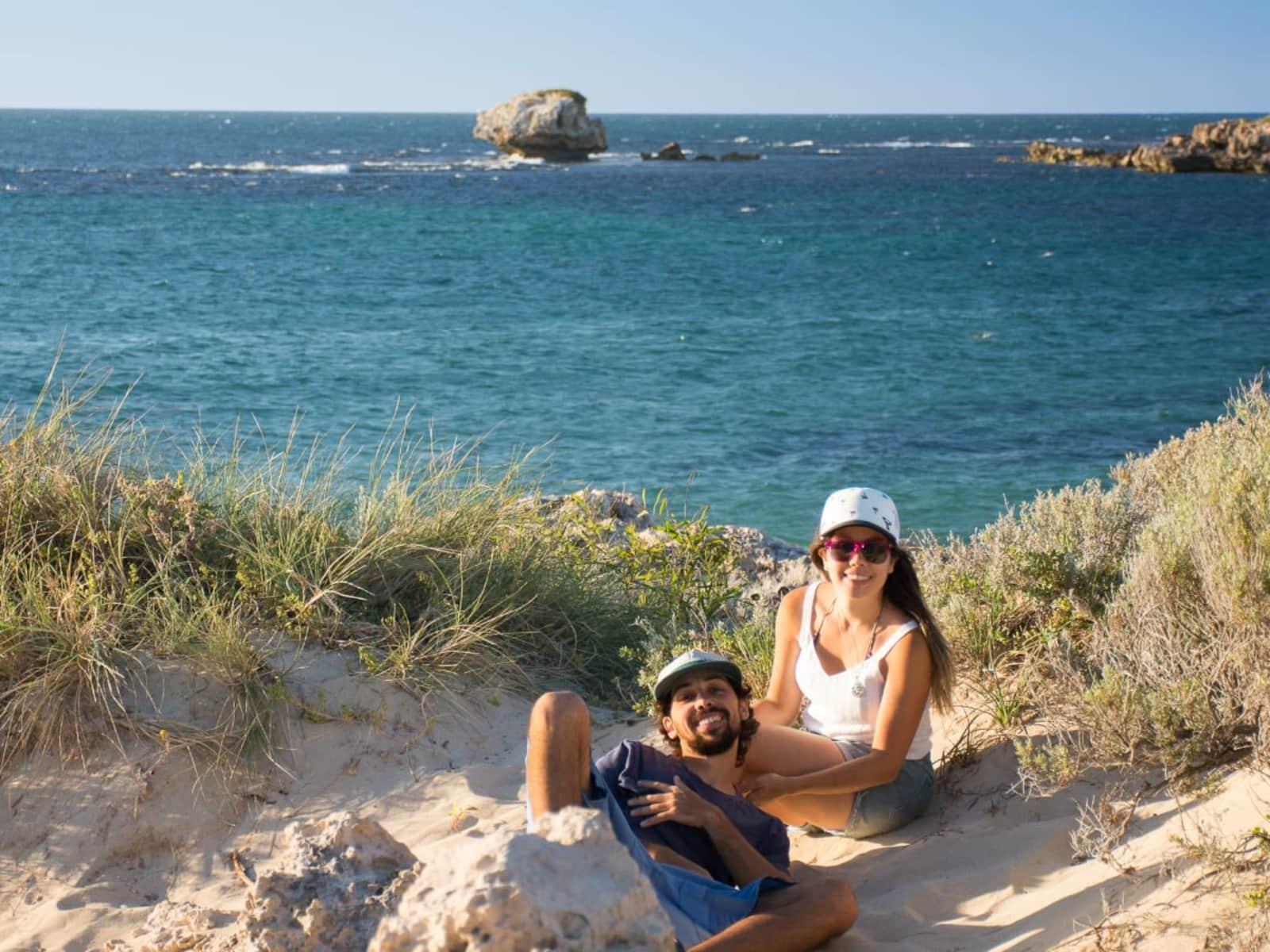 Florencia & Ignacio from Gold Coast, Queensland, Australia