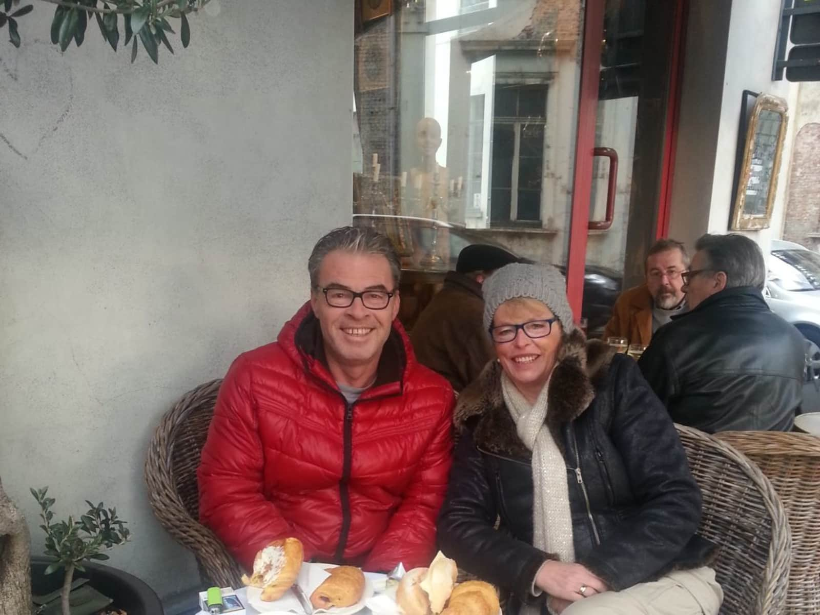 Ronald & Linda from Gent, Belgium