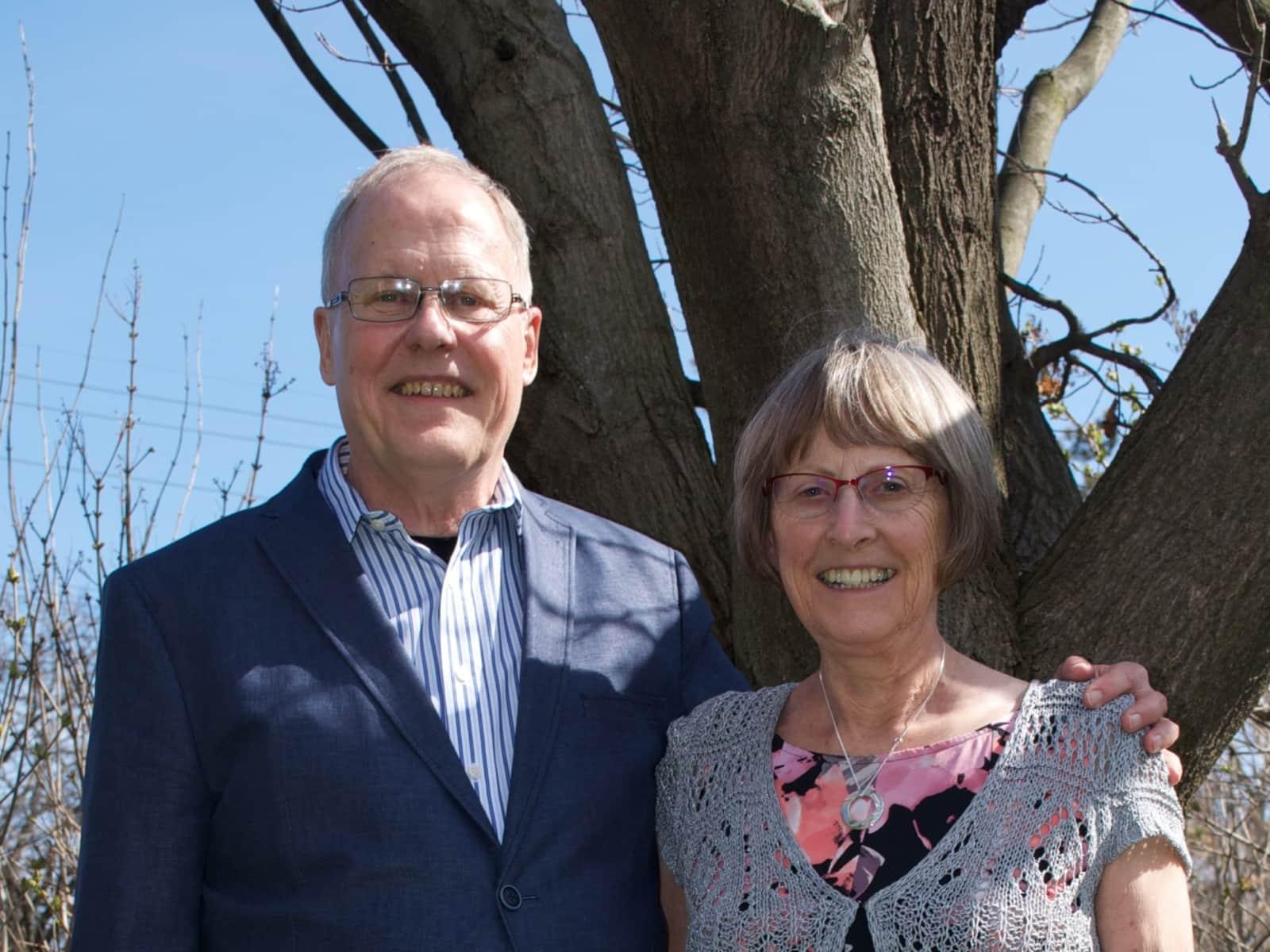 Alan & Maureen from Ottawa, Ontario, Canada