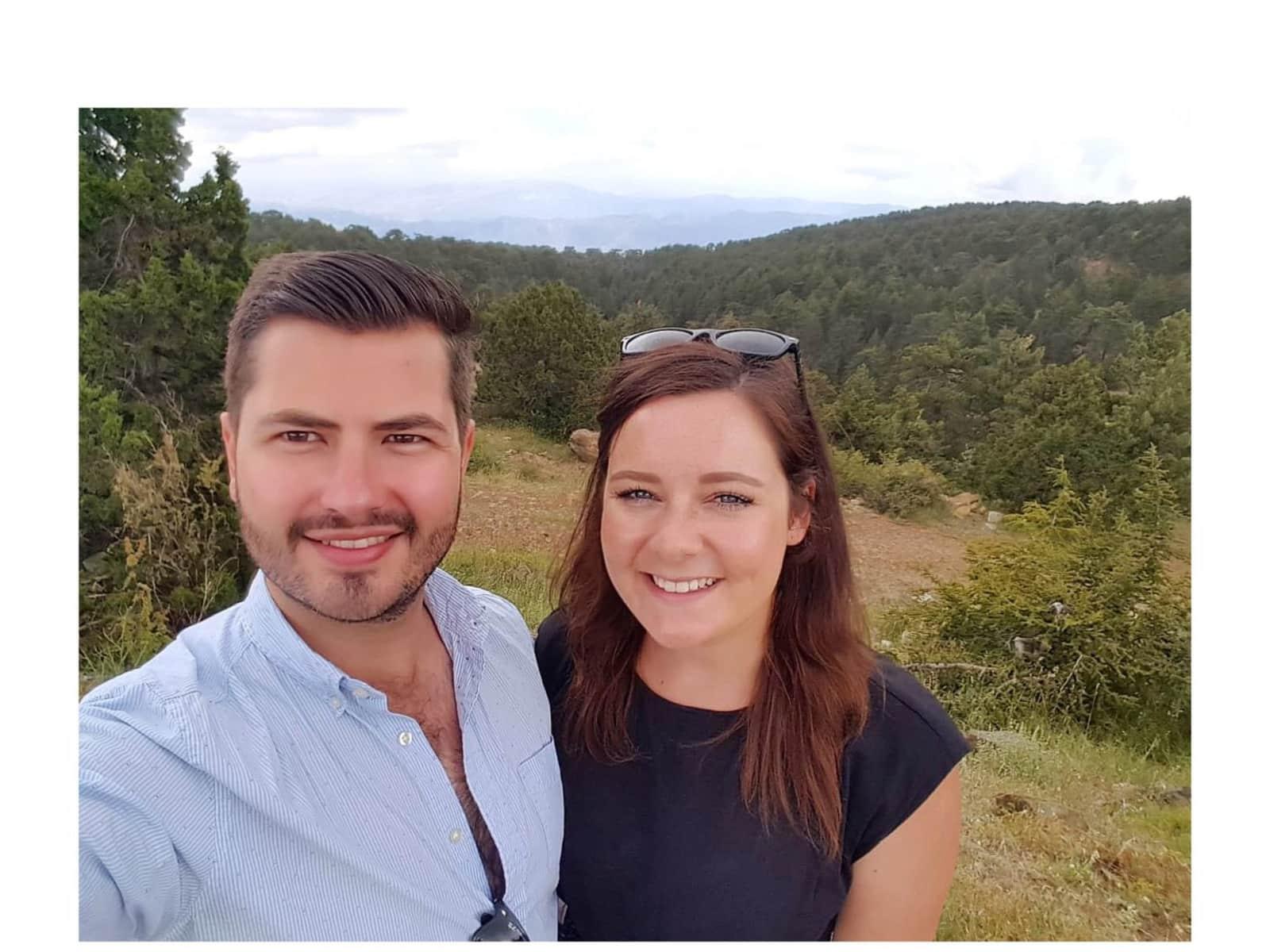 Rebecca & Harry from Dunedin, New Zealand