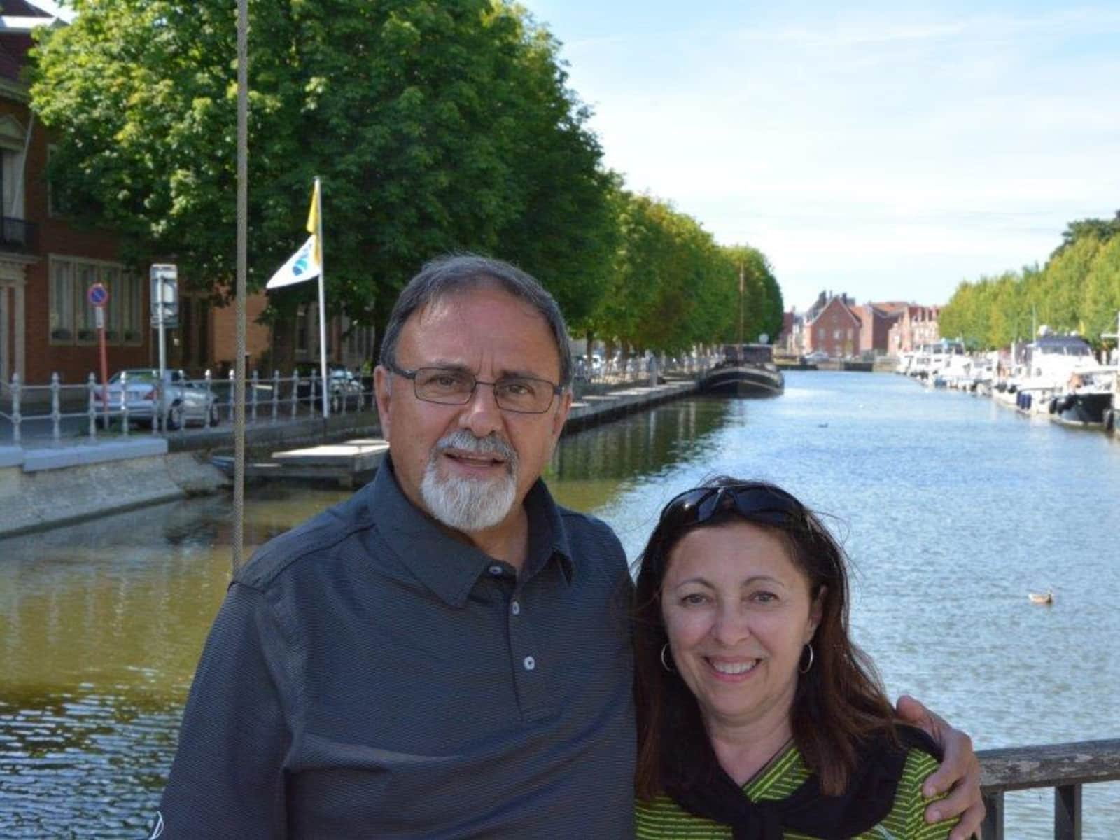 Debbie & Angelo from Trois-Rivières, Quebec, Canada