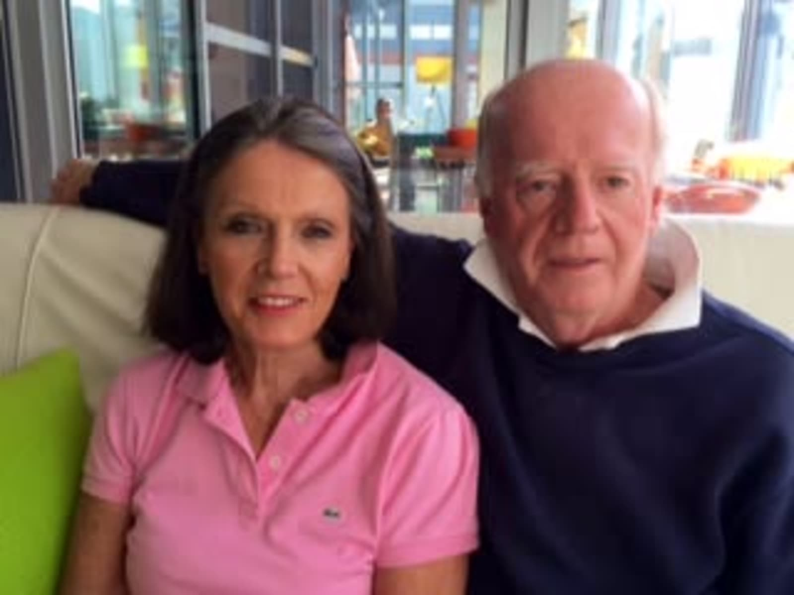 Susan & Peter from Melbourne, Victoria, Australia