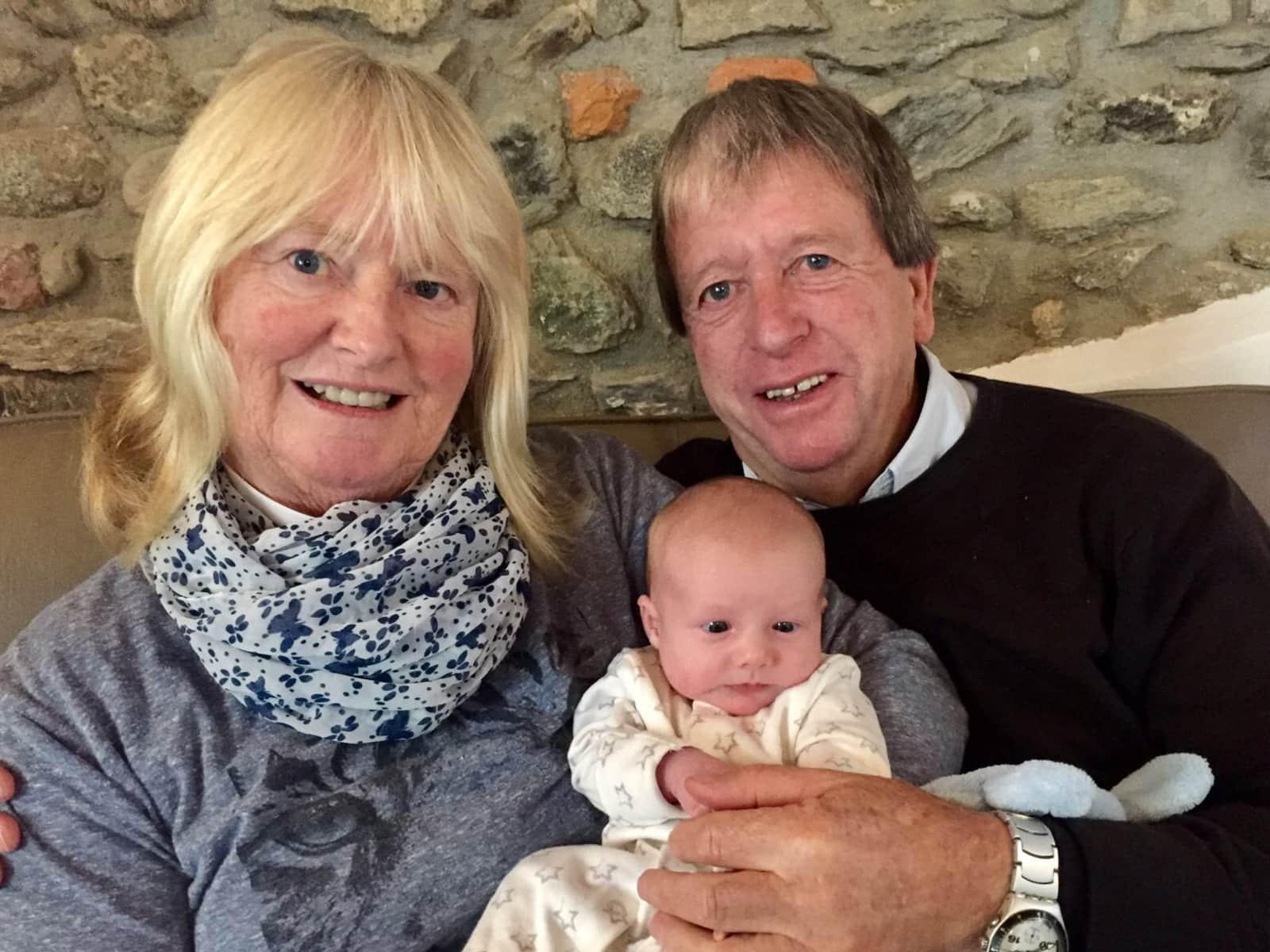 Margaret & David from Málaga, Spain