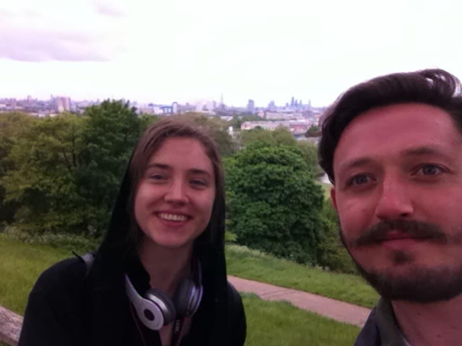 Josh & Margarita from Bristol, United Kingdom