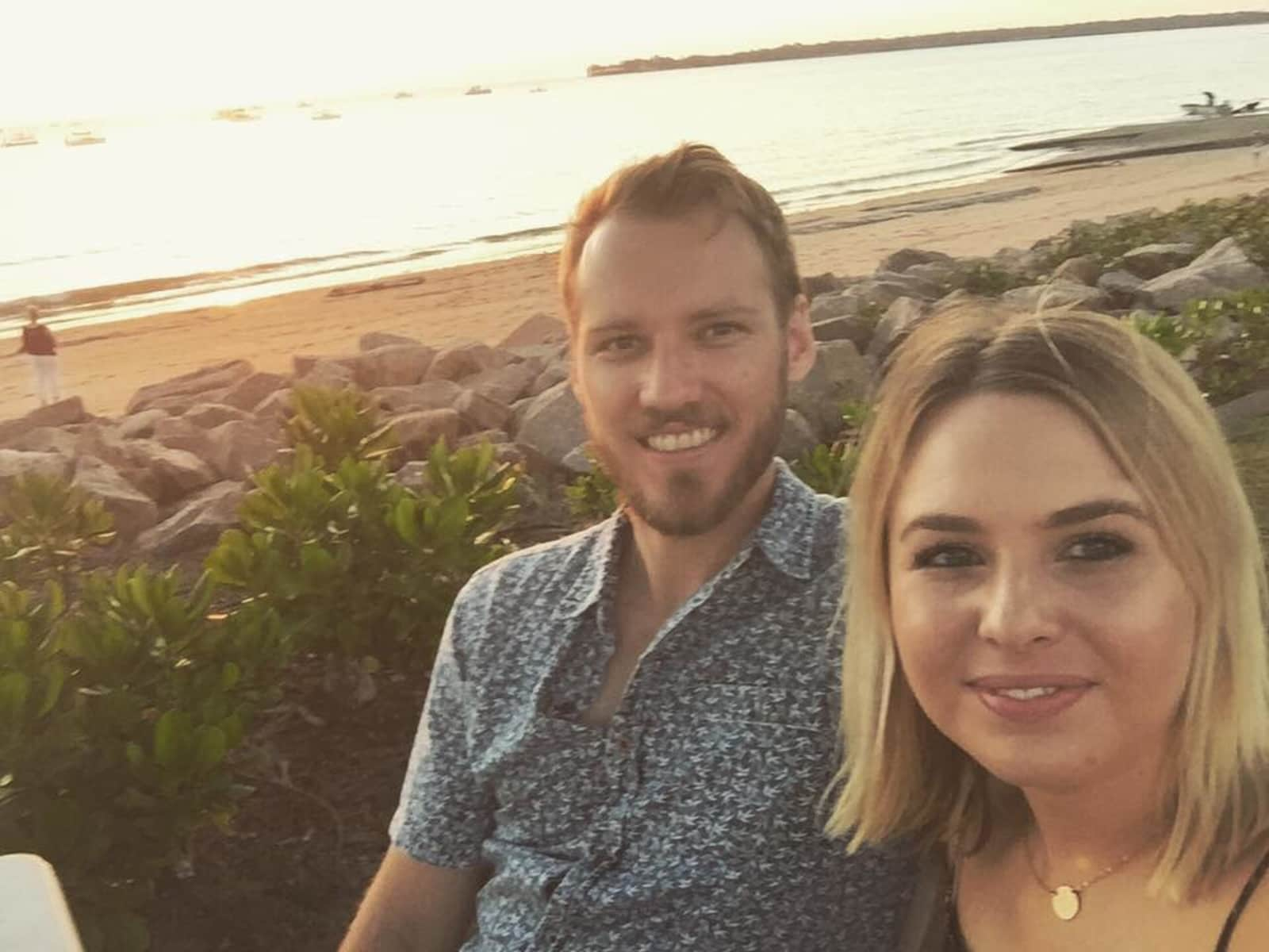 Hayley & Matt from Perth, Western Australia, Australia