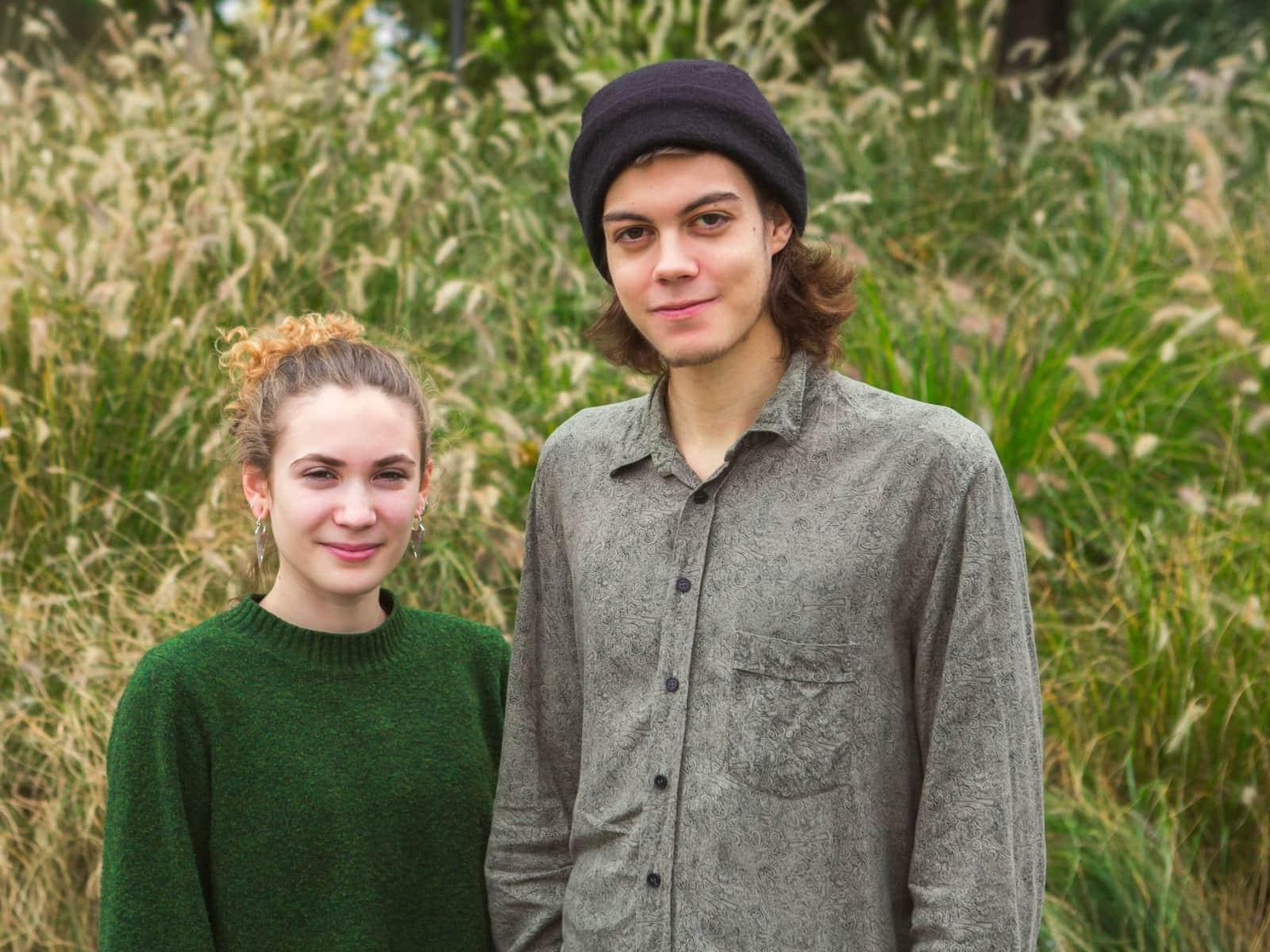 Sebastian & Anna from Vienna, Austria