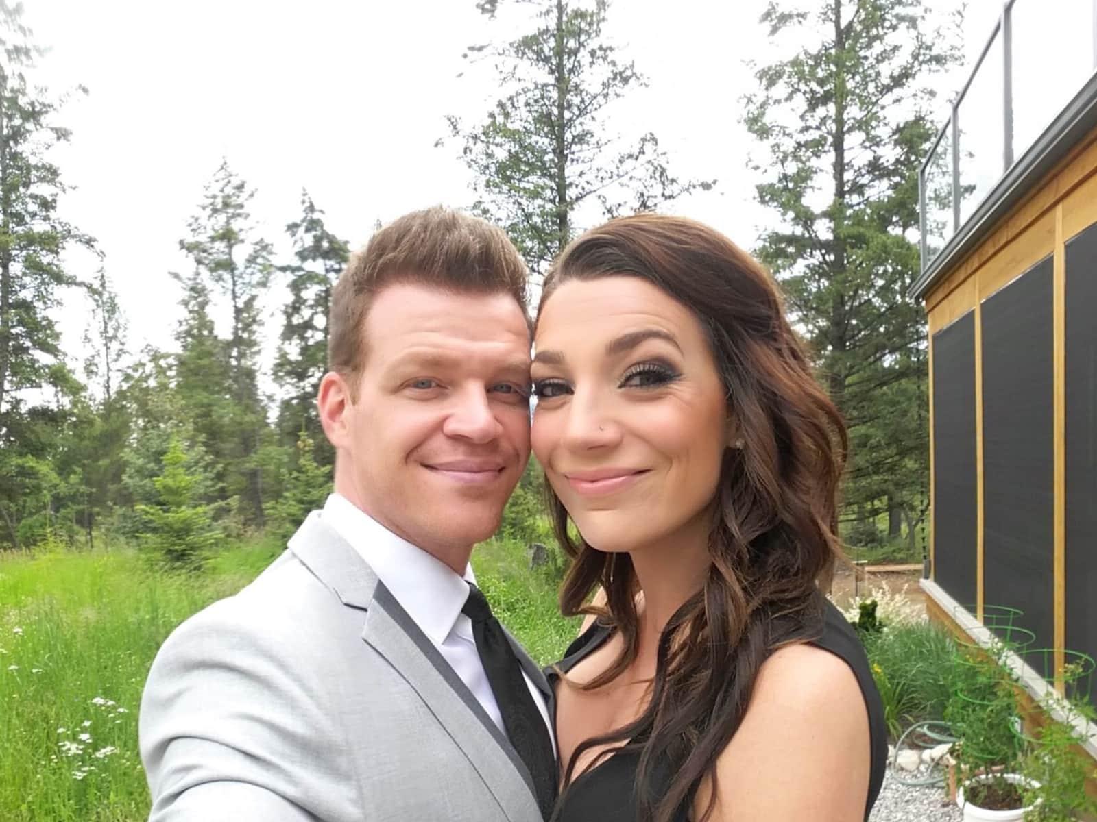 Alison & Andrew from Calgary, Alberta, Canada